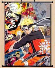 Home Decor Cosplay Naruto uzumaki naruto and hyuga hinata Wall Scroll Poster X02