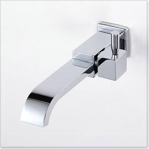 lavatorio Brass Chrome wall mounted mop sink faucet & mop pool faucet torneira parede cachoeira(China (Mainland))