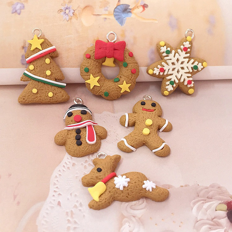 Merry Christmas elk Snowflake Gingerbread Man tree ornaments scene window Showcase Supplies Party gifts favors decor for home(China (Mainland))