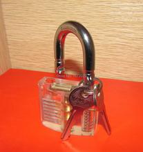 Bullkeys transparente Cutaway práctica candado herramientas del cerrajero con envío gratis 1 unids/lote