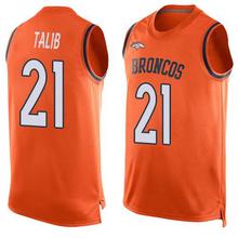 2016 Newstyle Fashion Broncos Summer Must Haves Men's Von Miller Orange Demaryius Thomas Player Name Denver Sports Tank Top(China (Mainland))