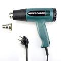 NEWACALOX 1800 Watt 220V EU Plug Industrial Electric Hot Air Gun Heat Gun Kit Professional Heatguns