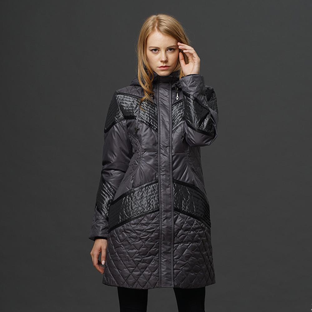 Fasicat Top Brand 2015 Winter Down Jacket Warm Large Fur Collar Hooded  Spliced Plaid Women Mid-long Slim Thicken Coats 180188Одежда и ак�е��уары<br><br><br>Aliexpress