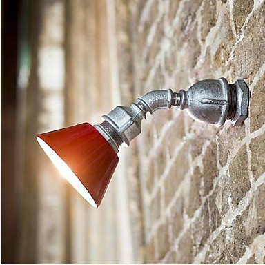 Фотография Loft Style Industrial Vintage Wall Light Fixtures For Home Iron Water Pipe Lamp LED Wall Sconce Indoor Lighting Lampara Pared