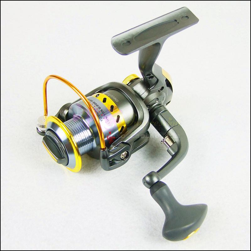 -Free ship worldwide quality Fish reel yd4000 metal line cup fishing vessel small 8 bearing spinning wheel pole wheel fish wheel(China (Mainland))
