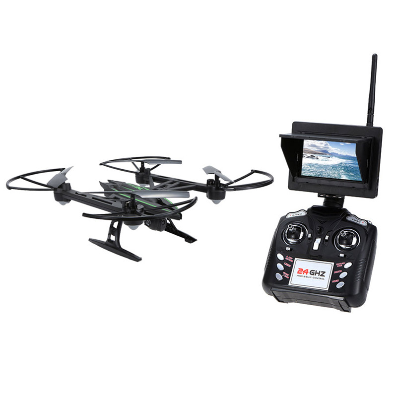 Original JXD 510G 2.4G 4CH 6-Axis Gyro 5.8G FPV RC Quadcopter RTF RC Drones With 2MP Camera with One-key Return CF Mode 3D-flip