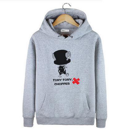 2016 winter Cartoon Anime ONE PIECE Hoodies Clothing for men women Couples Japan Anime Luffy Clothes Sweatshirt Cosplay Coat(China (Mainland))