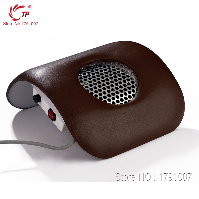 Beauty Equipment Dust Suction Strong Fan Nail Dust Collector Dark Brown Color 110V & 220V EU Plug Nail Art Manicure(China (Mainland))