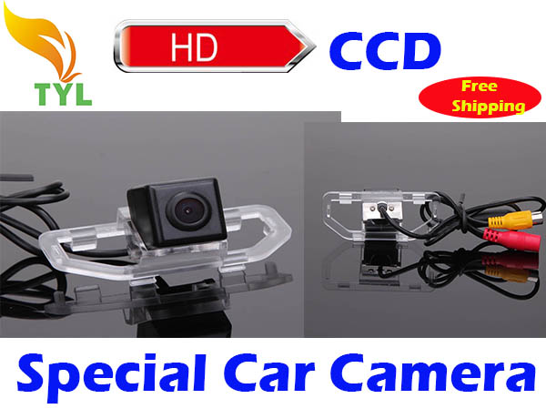 Freeshipping CCD Toyota Camry 2012 Car rearview Camera with Backup Rear View Parking Kit Night Vision(China (Mainland))