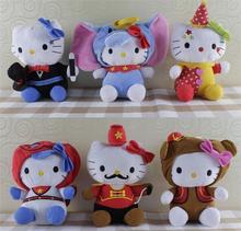 12pcs/lot Hot Sale 20cm(8″) Lovely Hello Kitty Plush Toys Lot Children Soft Plush Animals Hello Kitty Doll WL43