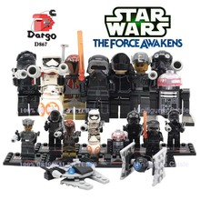 8Sets/lot SY198 Star Wars Minifigures Building Block Starwars Mini Action Figure VS Marvel Avengers Super Heroes Assemble Decool(China (Mainland))