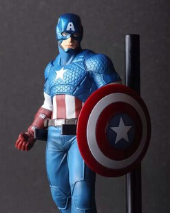 2015 New Toys The Avengers Captain America Super Hero PVC Action Figure Collection Model Toy(China (Mainland))