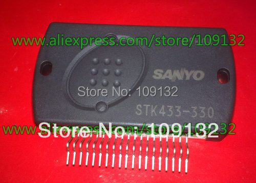 STK433-330 Thick-Film Hybrid IC 3-channel class AB audio power IC, 100% new and original(China (Mainland))
