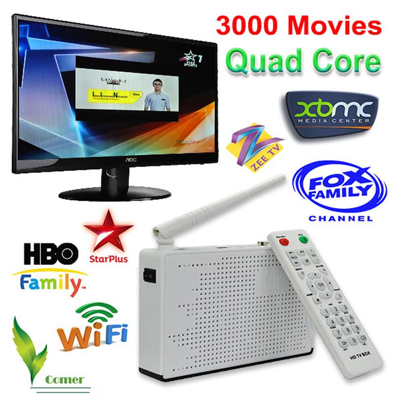 Indian tv box set top box HD network player IPTV market clearance Indian tv box watching HD Indian IPTV Box(China (Mainland))