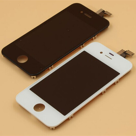 Black and White 100% Guarantee Display For iphone 4s LCD Touch Screen Digitizer Assembly + Tools Replacement For iPhone 4S(China (Mainland))