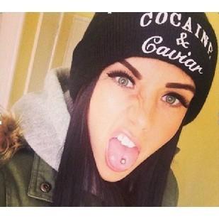 Гаджет  Fashion Letter Hats / Gorros / Bonnets Cocain & Caviar Unisex Winter Cap Women & Men Skullies Beanie Hiphop Knitted Hat HM0514 None Одежда и аксессуары