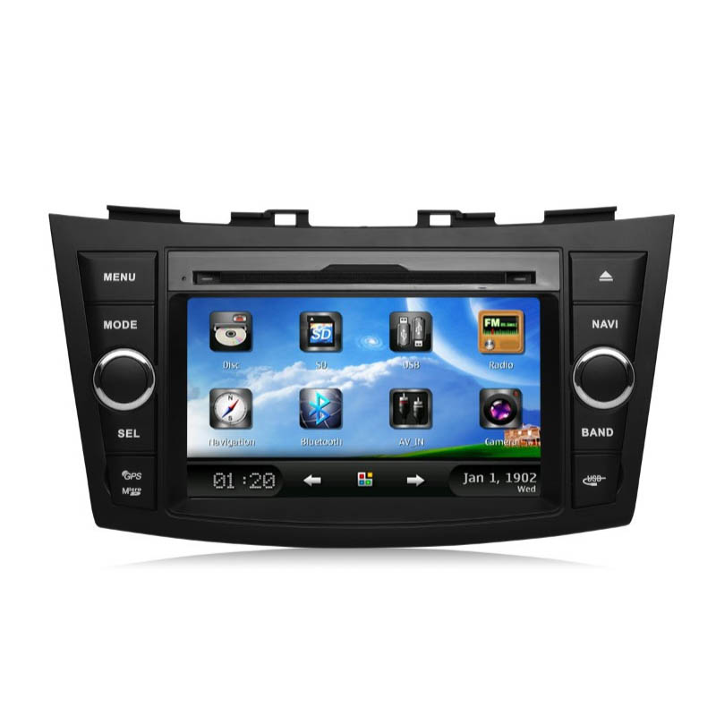 Good Quality MF1 2 Double Din Touch Screen Car Audio Autoradio Stereo Radio GPS DVD Player MP3 Listen to Music SD Card Downloads(China (Mainland))