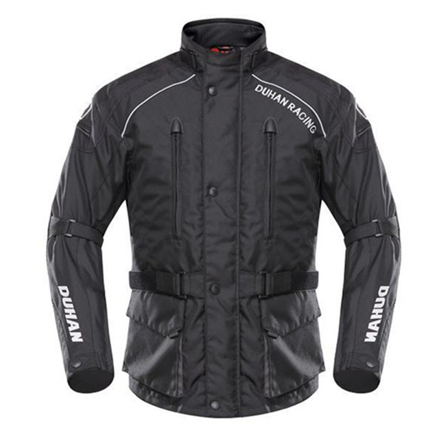 DUHAN Motorcycle Motorcross Racing Protective Jacket Gear Waterproof Windproof Men's Riding Racing Jaqueta clothing Equipment