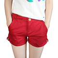 2016 New Arrival Fashion Casual Hot Item High Quality Simple Design Solid Candy Color Women Shorts