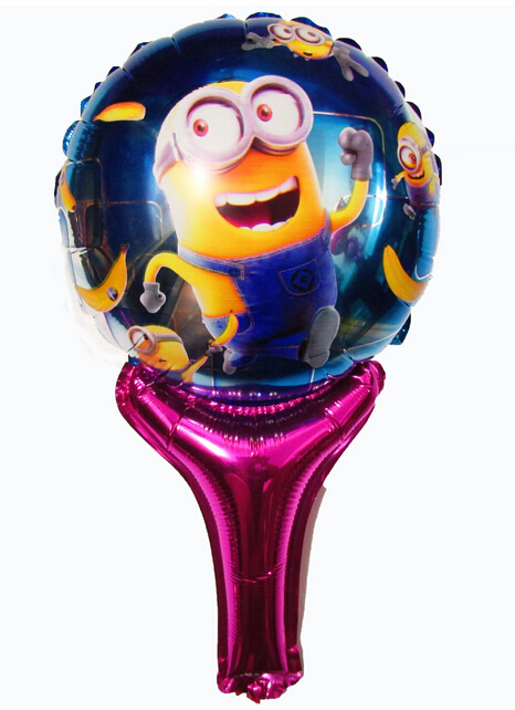 Irregular despicable me minions balloon , childrens party decoration happy birthday party festa minion balos<br><br>Aliexpress