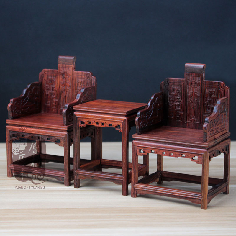 of Ming and Qing Dynasties bright red acid branch miniature furniture retro general chair in Ming and Qing Dynasties(China (Mainland))