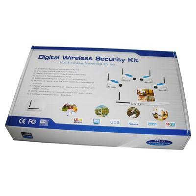 2019 Wireless 2 4ghz Usb Dvr 4 Ch Camera Digital Security