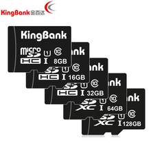 Buy KINGBANK TF card 64GB micro sd card class 10 Real capacity 8GB 16GB 32GB 64GB 128GB memory cards for $3.50 in AliExpress store