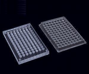 96 hemagglutination plexiglass plate 96 well plastic plates biological experiments professional equipment Beijing spot<br><br>Aliexpress