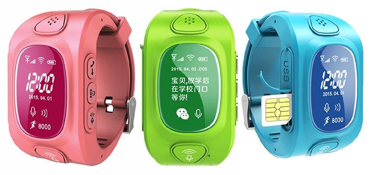 ถูก Y3สมาร์ทเด็กGPS Watch GPS/GSM/Wifi T Ripleตำแหน่งGPRSตรวจสอบเวลาจริงสองทางโทรSOSสำหรับเด็ก/เด็กOLED