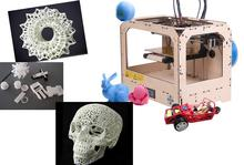 Free shipping Branded 3D Printer  Dual Extruder Aviation Board Frame Structure high quality 3d replicator -014