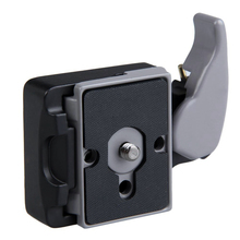 New Camera 323 Quick Release Clamp Adapter  + Quick Release Plate Compatible for Manfrotto 200PL-14 Compat Plate(China (Mainland))
