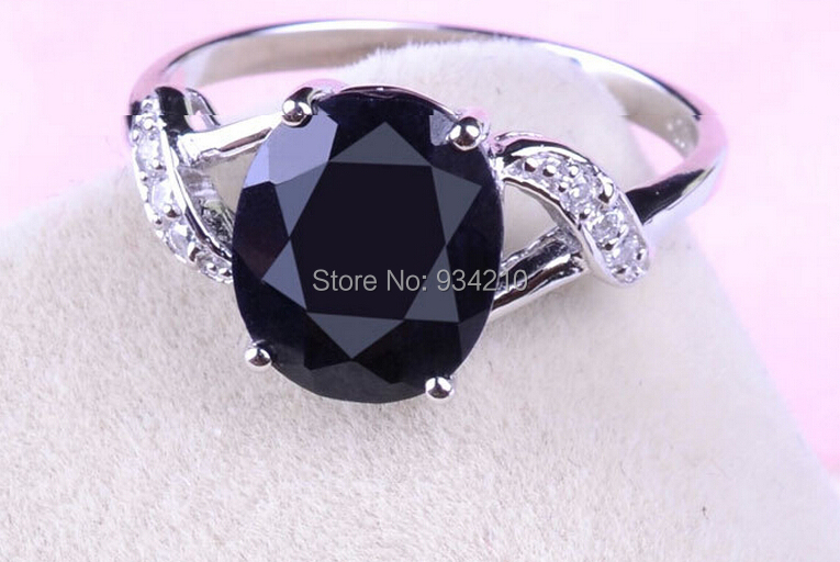 100% Natural perfect  classic womens sapphire ring , s925 sliver , gemstone size 7mm*6mm good for love<br><br>Aliexpress