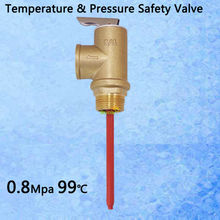 "116PSI 210F TP Valve BSP G3/4"" Temperature and Pressure Relief Valve as TP Safety Valve 0.8Mpa 99 centigrade(China (Mainland))"