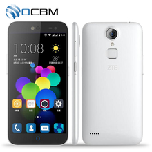 Original ZTE Blade A1 C880A MTK6735 Quad Core 1.3GHz Android 5.1 Mobile Phone 2GB RAM 16GB ROM 2800mAh 13.0MP Fingerprint 4G LTE