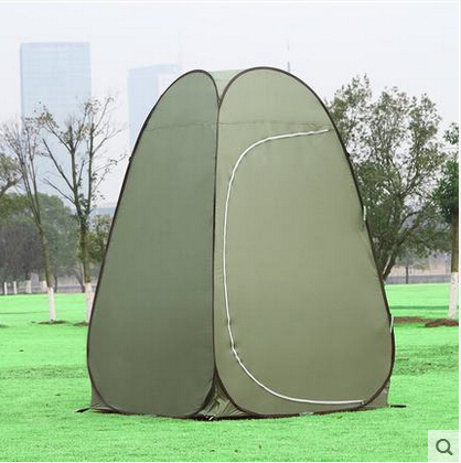Outdoor automatic dressing tent Mobile toilets A single simple travel swimming bath shower locker room(China (Mainland))