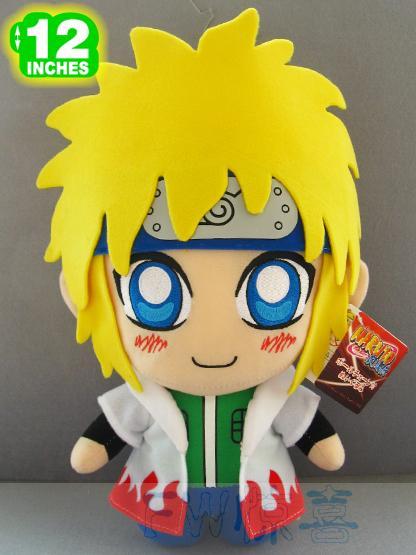 New Rare Japan Anime NARUTO Uzumaki Naruto Dad Namikaze Minato Soft Cute Stuff Plush Toy Doll Birthday Children Kids Gift(China (Mainland))