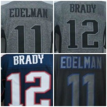 New Jerseys Edelman 11 Brady Limited 12 Gronkowski 87 Mens White Black Blue Wholesale(China (Mainland))