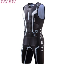 Buy 2017 Triathlon Cycling Jersey Quick Dry Sleeveless Cycling Skinsuit Bike Jersey Clothes Swimming Running Riding for $31.71 in AliExpress store