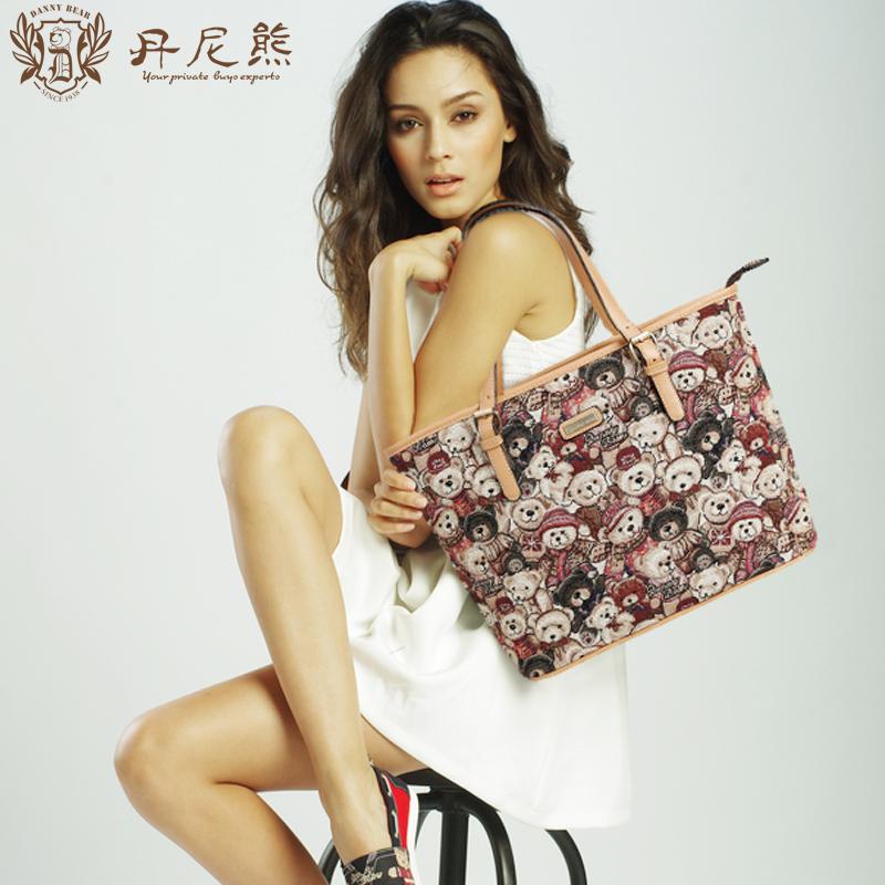 Bolsas Designer Handbags High Quality Danny Bear 2015 Fairy The Tote Bag Personalized Women's Casual Shoulder For Db 7705 - 37(China (Mainland))