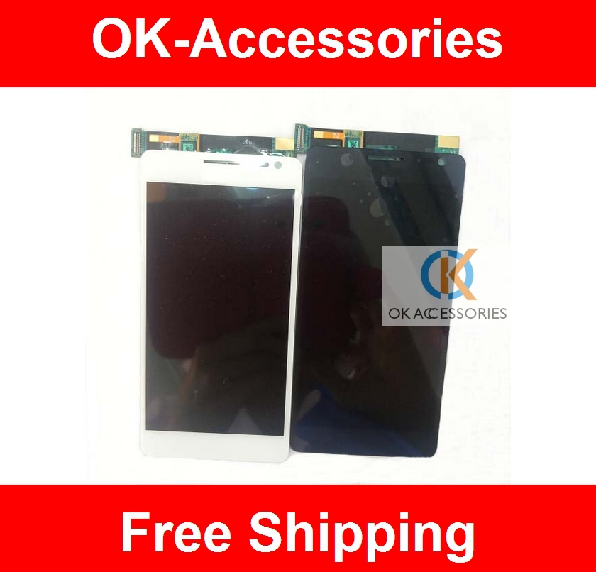 LCD Display + Touch Screen Digitizer Assembly For Huawei Ascend D2 1PC/Lot Free Shipping Via Sinapore /China Post+Tracking NO.(China (Mainland))