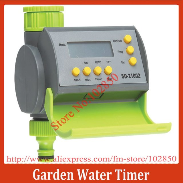 Garden Electronic Water Timer with LCD display,Auto Irrigation System Controller Timer
