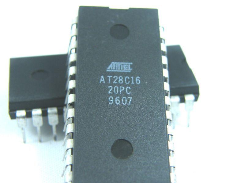 5pcs IC AT28C16-20PC DIP 24 Pin IC ATMEL AT28C16(China (Mainland))