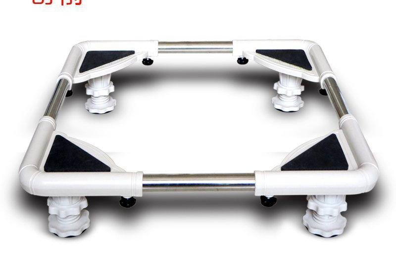 Washing machine refrigerator bracket base large appliances racks adjustable shelving backing plate<br><br>Aliexpress