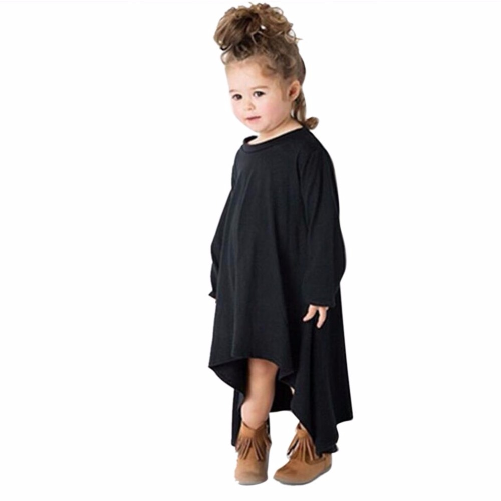 Kids Toddler Baby Girl Long Sleeve Dress Princess Party