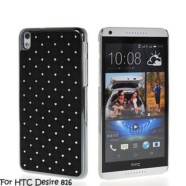 Luxury Bling Diamond Rhinestone Star Hard Back Case Cover HTC Desire 816 - ShenZhen Promising electronics co., LTD store