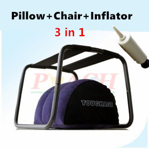 Фотография TOUGHAGE Inflatable Sex Pillow and Sex Chair , Adult Game Furniture