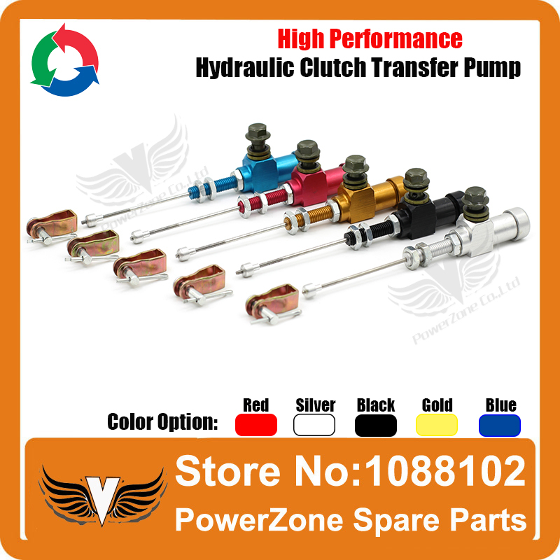 Motorcycle performance hydraulic brake clutch master cylinder rod system performance efficient transfer pump Free shipping(China (Mainland))
