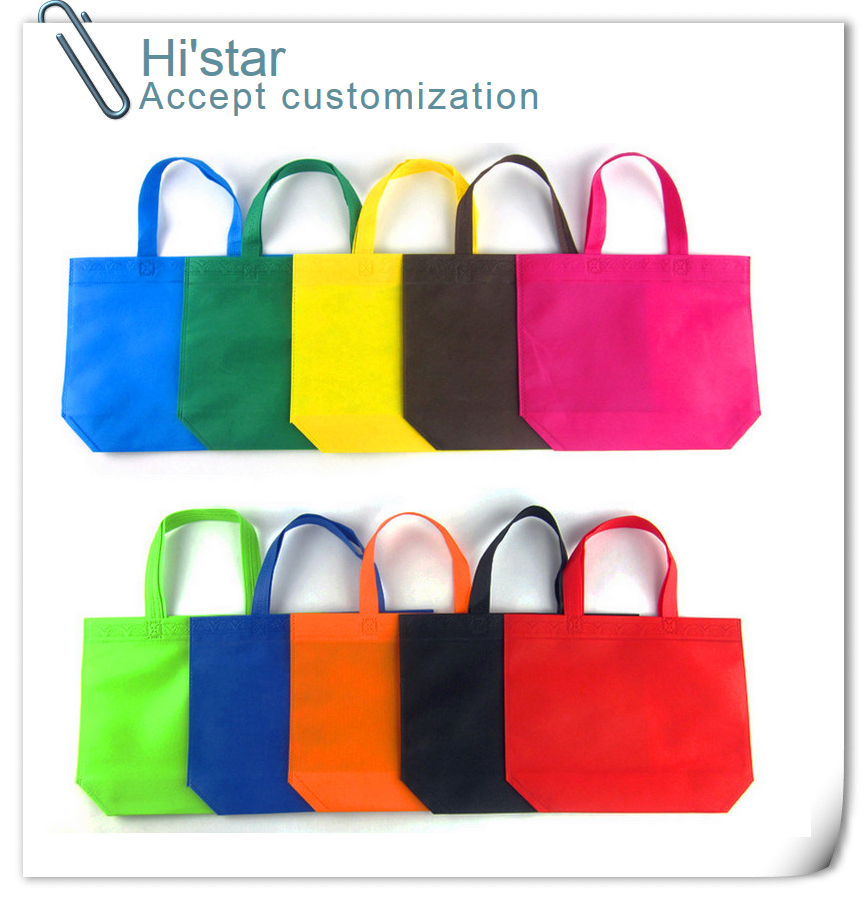 20pieces/lot custom gift advertisement Reusable Recycle non woven shopping bags recyle supermarket non woven bags with handles(China (Mainland))