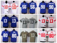 ABCTop A Best quality 100% Stitiched,New York Giants,Eli Manning,Odell Beckham Jr,Victor Cruz, Jason Pierre-Paul(China (Mainland))
