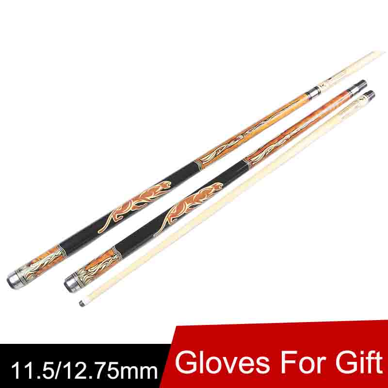 Biliardo Pool Cue Tips 11.5mm/12.75mm Black /Orange Colors Billiard Cues Taco De Billar China 2016(China (Mainland))